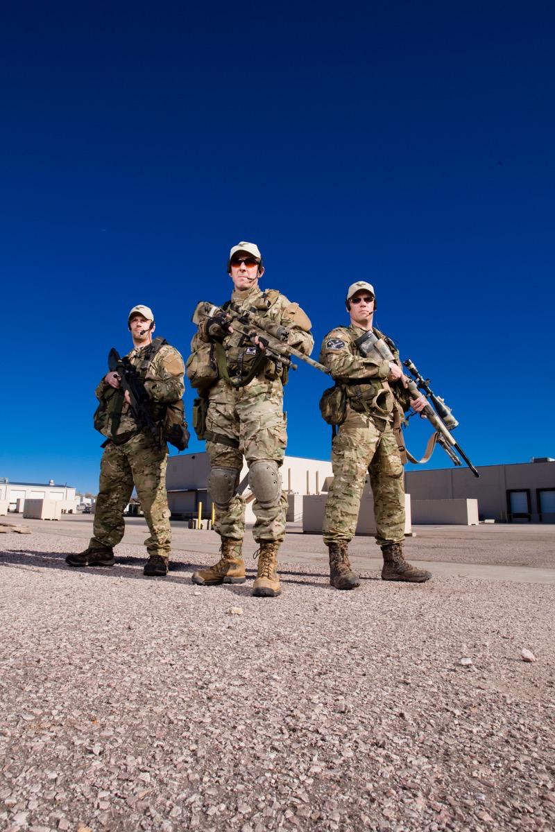 Special Response Team - Advertising Photography - Kevin Eilbeck Photography
