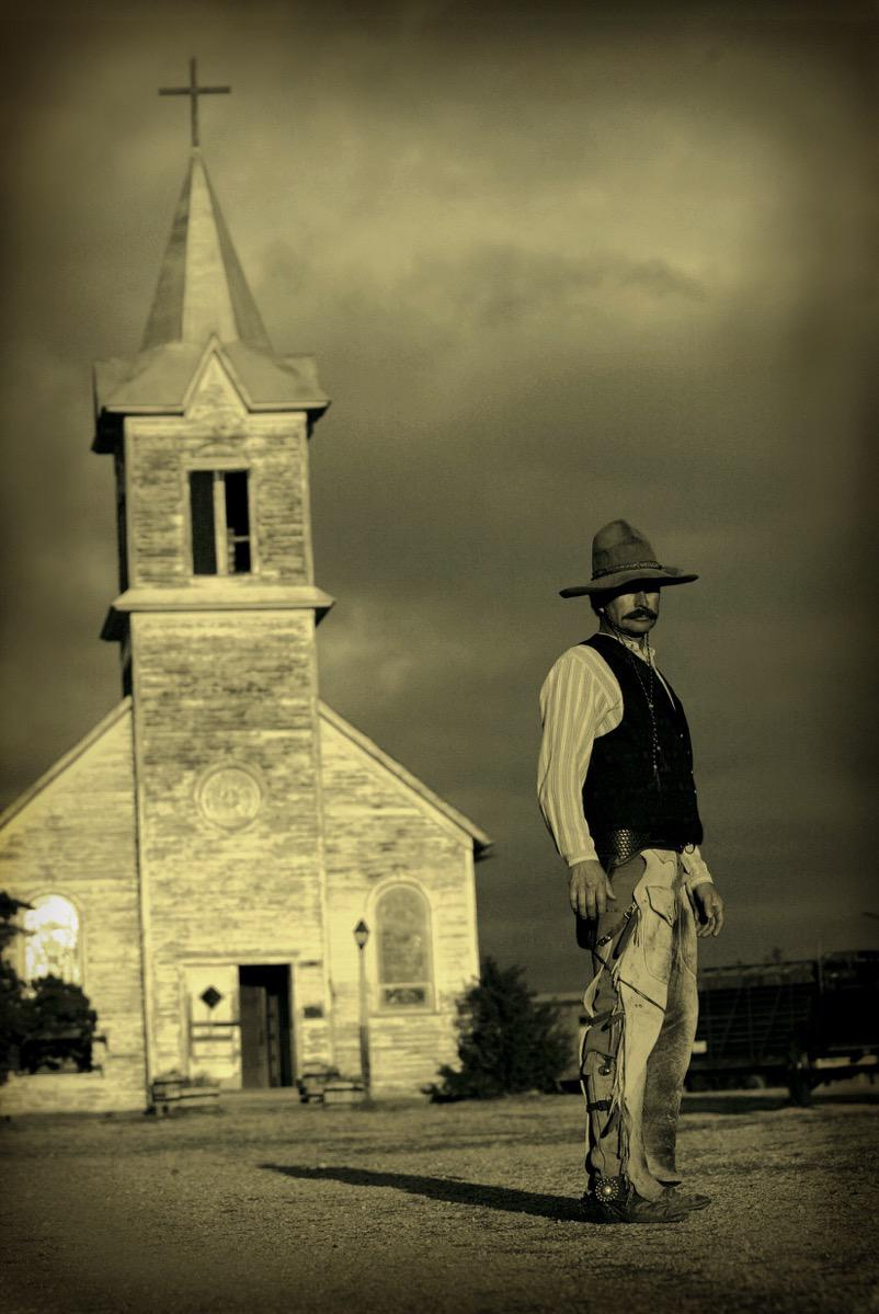 Old Western Cowoby - Advertising, Kevin Eilbeck Photography