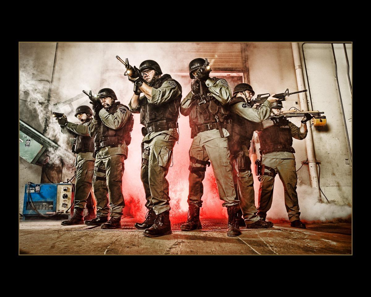 Rapid City SWAT - Advertising, Kevin Eilbeck Photography