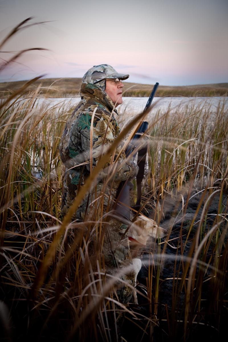 Waterfowl Hutning: Lippert - Advertising, Kevin Eilbeck Photography