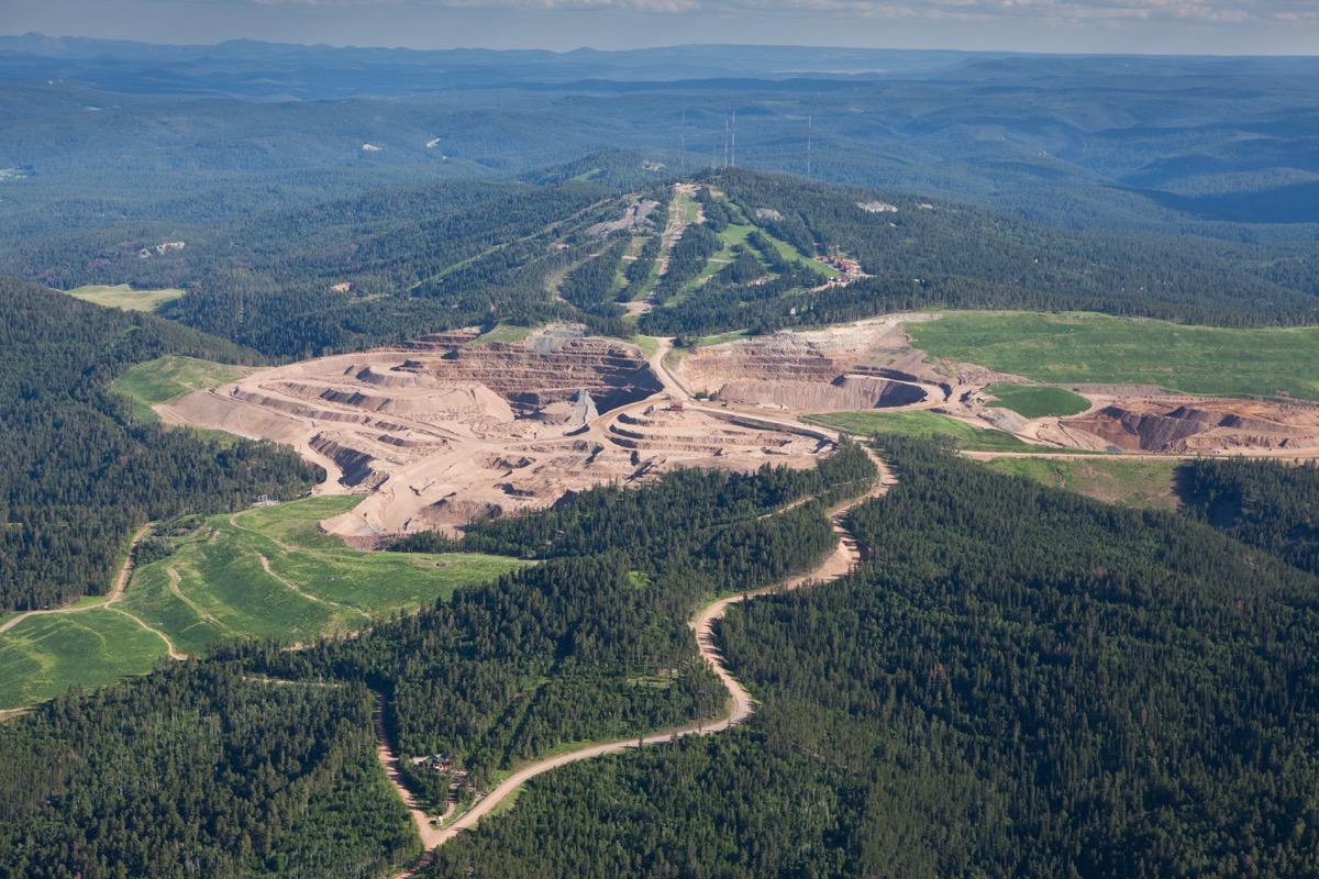 Aerial Photography - Goldcorp Inc - Kevin Eilbeck Photography