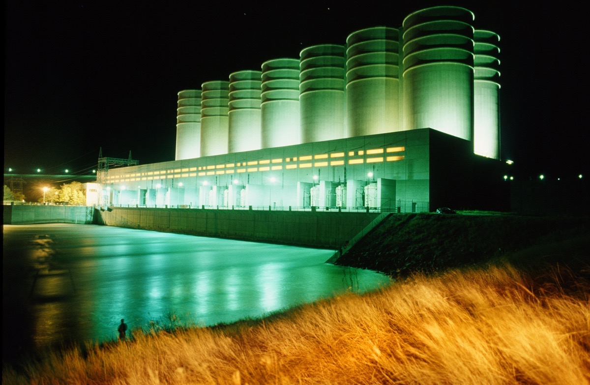 Oahe Dam - Architecture Photography by Kevin Eilbeck