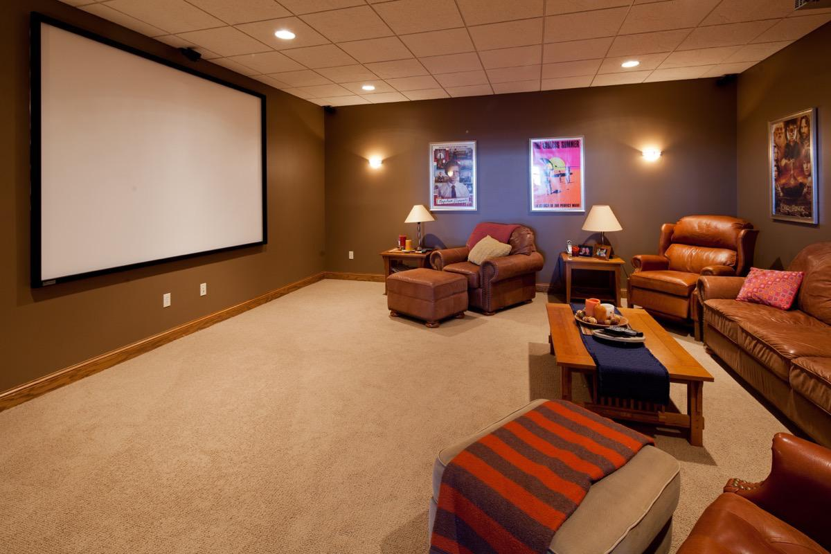 Home Theatre - Architecture Photography by Kevin Eilbeck