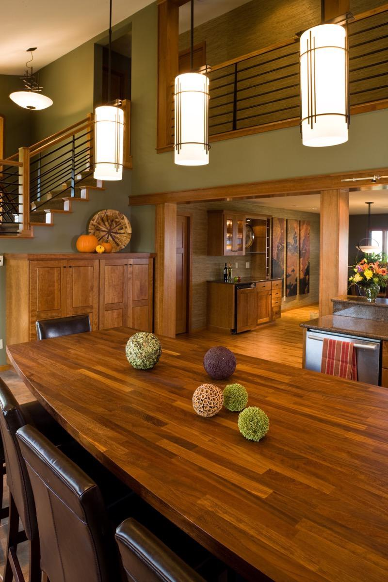 Black Hills Interior Cabin Architecture Photography by Kevin Eilbeck