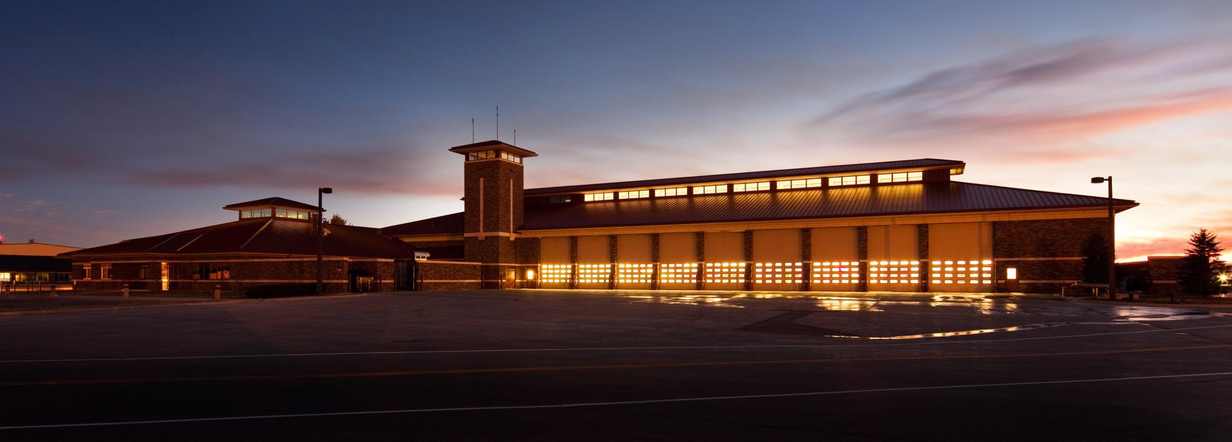 Fire & Rescue Department - Architecture Photography by Kevin Eilbeck