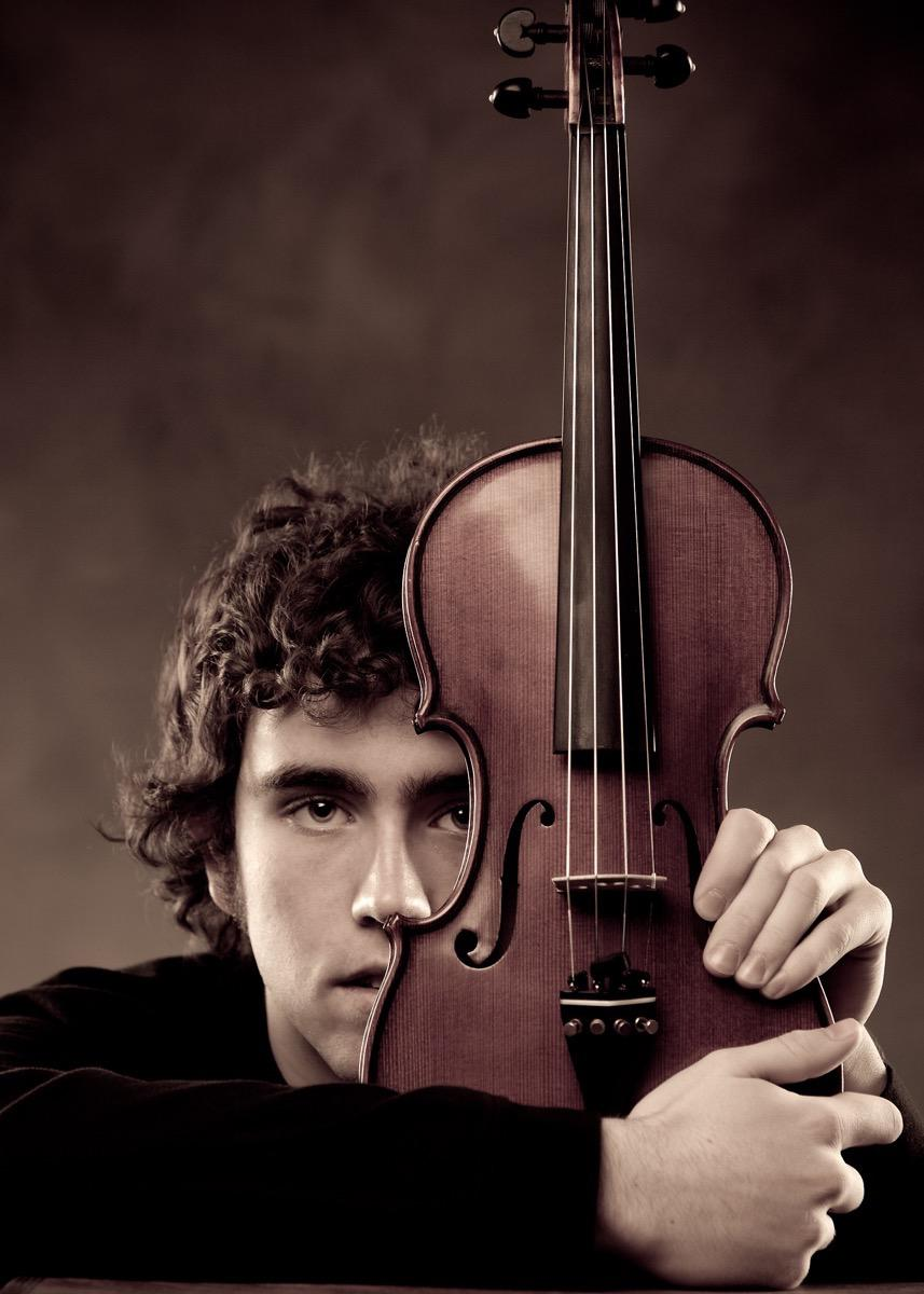 Violin - High School Senior Photography in Rapid City, SD by Kevin Eilbeck
