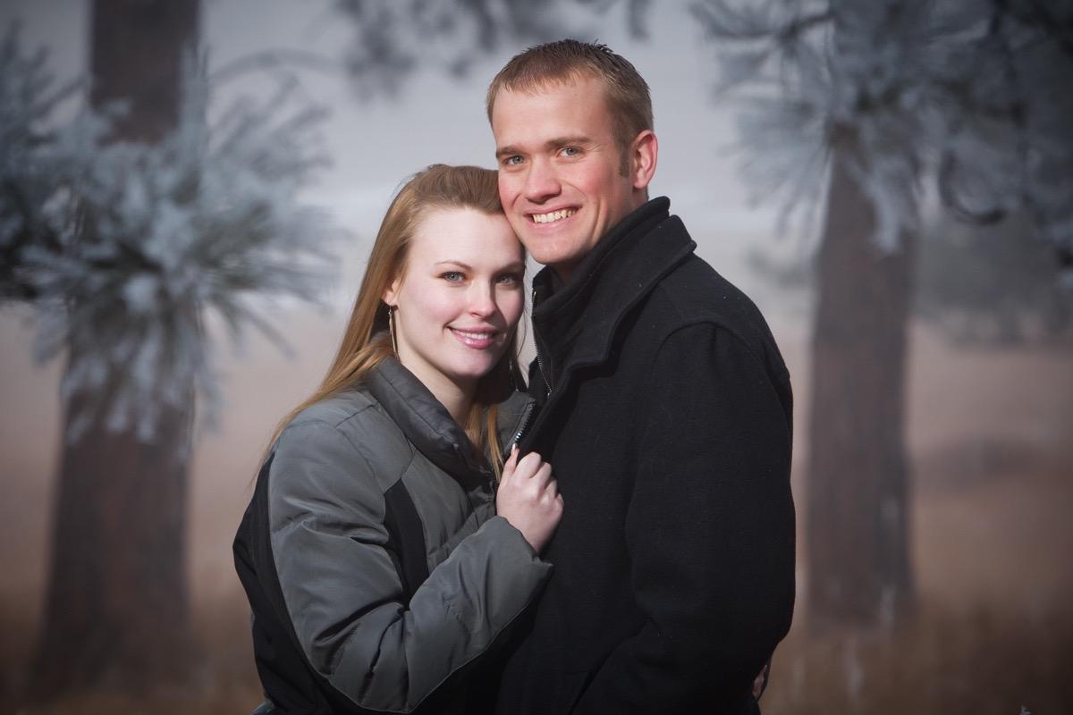 Christmas Couples Photographer in Rapid City, SD by Kevin Eilbeck