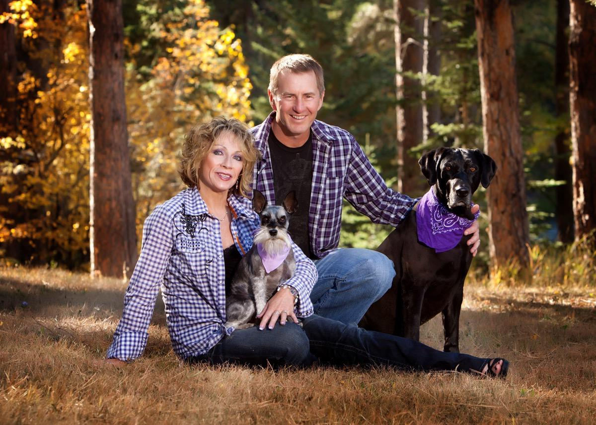 Family & Dogs - Couples Photographer in Rapid City, SD by Kevin Eilbeck