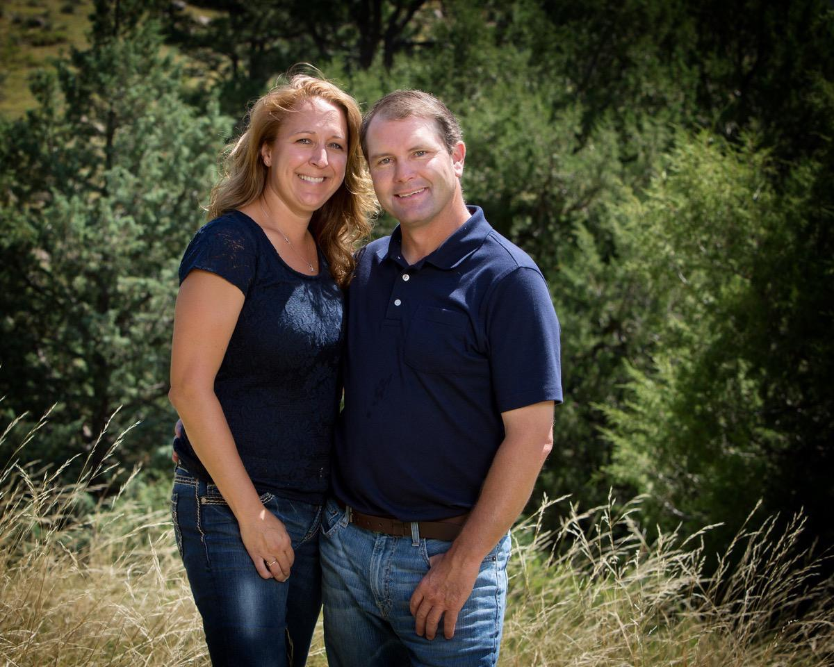 Navy Shirts - Couples Photo - Rapid City, SD