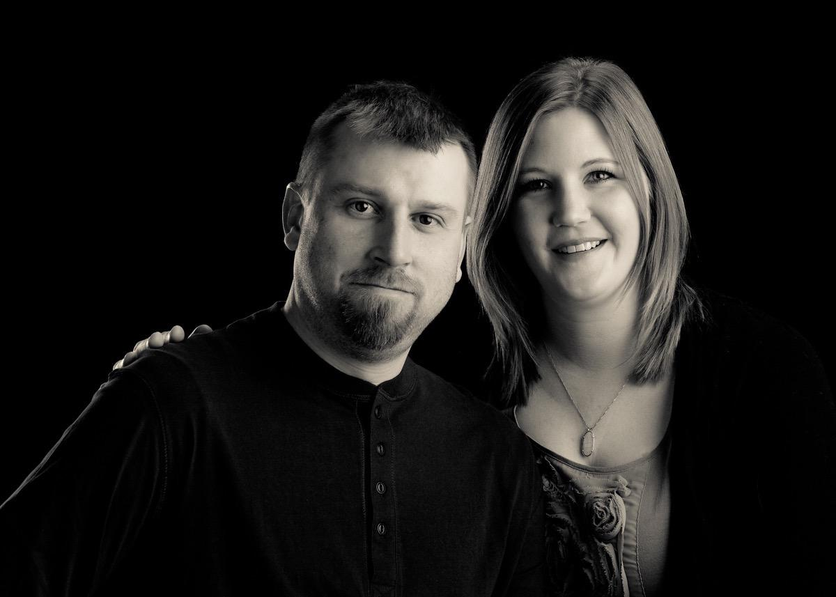 Black & White - Couples Photography - Rapid City, SD