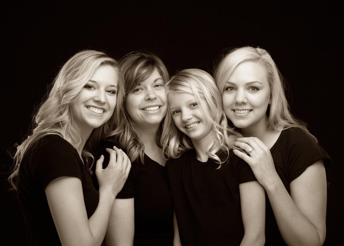 Sisters - Family Photographer - Rapid City, SD by Kevin Eilbeck