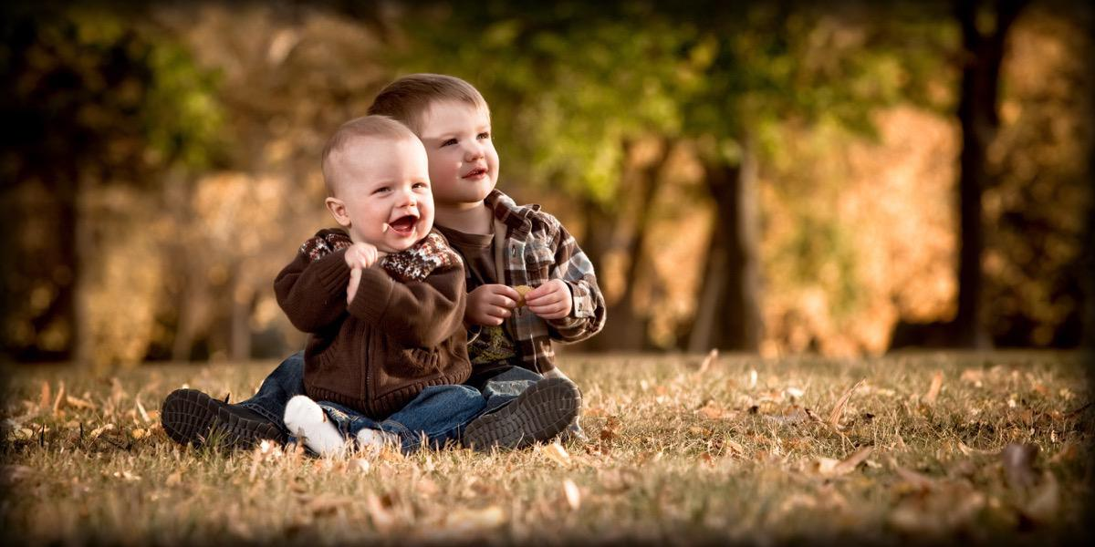 Brothers Close Up - Family Photographer - Rapid City, SD by Kevin Eilbeck