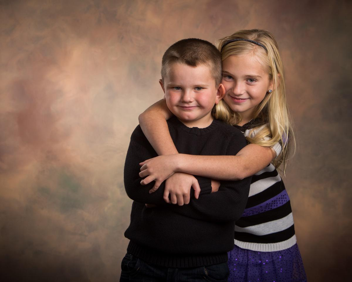 Brother & Sister - Family Photographer - Rapid City, SD by Kevin Eilbeck