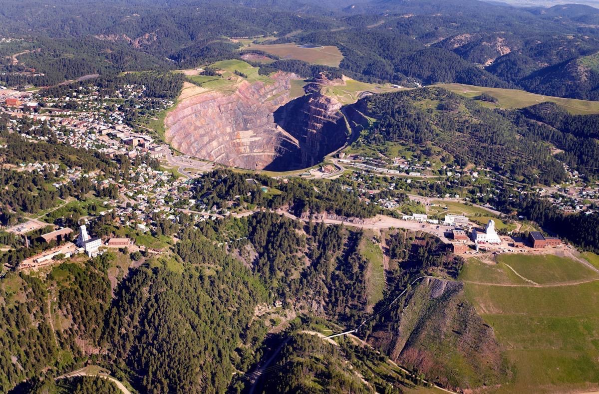 Mine- Aerial Photographer - Rapid City, SD by Kevin Eilbeck