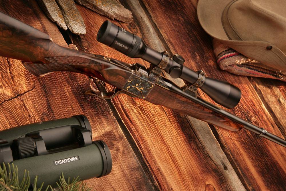 rifle product photography - rapid city by kevin eilbeck