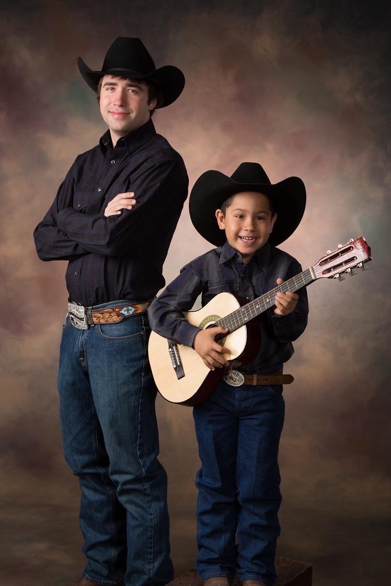 Country Duet Portrait Photography Kevin Eilbeck Photographer